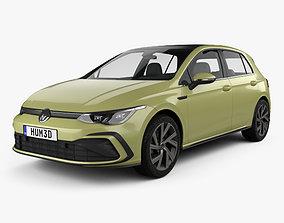 Volkswagen Golf R-Line 5-door hatchback 2020 3D