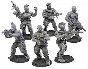 3D printable model LMG Squad