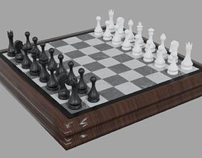 logic 3D model game-ready Chess