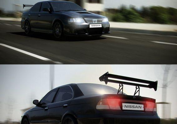 Funny ) Nissan sunny  Tuning