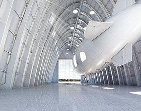 3D model Zeppelin Hangar