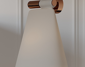BLUX CONE LIGHT W Wall Sconce 3D model