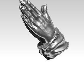 3D print model Detailed Realistic Praying Hand