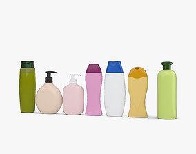 Shampoo Bottles 3D model
