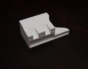 NVIDIA Tesla K10 cooling fan shroud 3D printable model 4