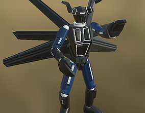 3D model realtime Robot 01 Pose PBR