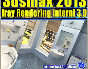 3ds max 2013 Iray Rendering interni cd front Vol