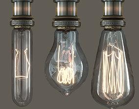 EDISON LAMP COLLECTION 3D