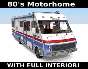 3D model 80s Motorhome