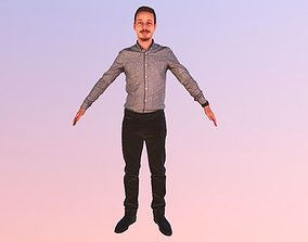 Rt033 - Male T-Pose A-Pose 3D