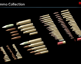 3D asset Ammo Collection