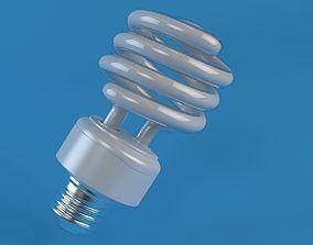 Energy Saver Lightbulb II 3D