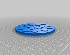 dining 3D print model Pizza