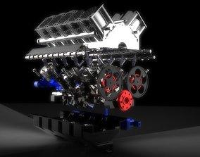 3D V10 Engine