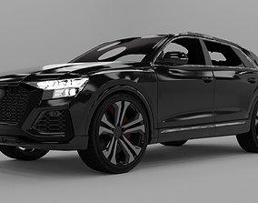 Audi RS Q8 2020 Rigged 3D