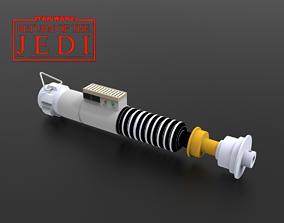Luke Skywalker Lightsaber ROTJ ISYCANL 3D print model