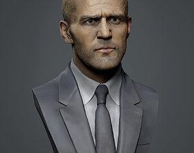 Jason Statham 3D printable model