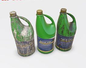 3D asset Plastic Bottle - PBR Game-Ready