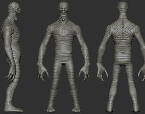 3D model Mummy - Highpoly Zbrush project