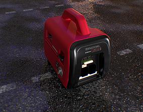 Portable Mini Generator 3D model VR / AR ready