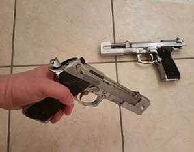 3D printable model Airsoft compensator for M9 Beretta