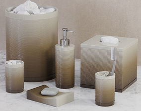 Reid Ombre Bath Accessories by Veratex 3D