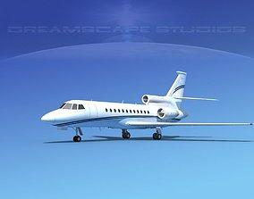 3D model Dassault Falcon 900 V13