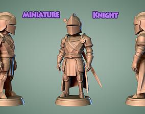 Fantacy Knight Miniature 2 -Mini Troop -3D print