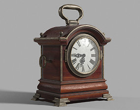 3D model game-ready Antique clock misc
