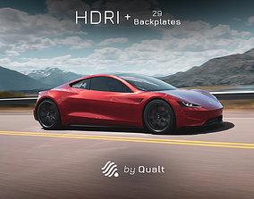 1 HDRI - Automotive 015 3D model