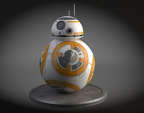 3D model Star Wars Tech Droid bb8
