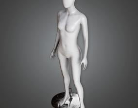 3D model SAM - Commercial Mannequin - PBR Game Ready