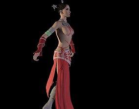 Sexy Thai girl 3D animated