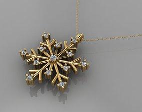 GC GOLD H265-snow globe Diamond Gold 3D print model