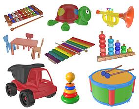 Children toys 04 3D model