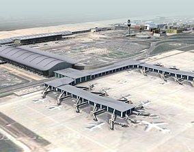 3D Chinese International Airport