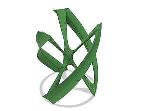 Wind Turbine 3D printable model