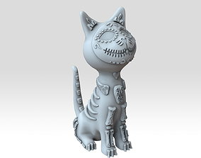 Voodoo decorative oriented creative cat high detailed 3d