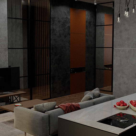 Continuation of the bachelor's apartment