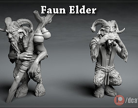 Faun Elder - DnD Character - 2 Poses 3D printable model