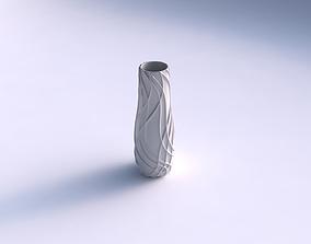 3D print model Vase wavy sparse extruded lines
