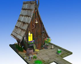 3D asset Fancy Hut