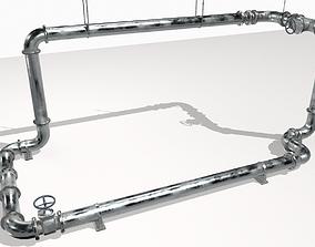 3D model Modular pipes pack 2