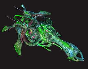 3D asset Orchid Drone V2 - PBR