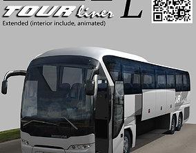 Neoplan Tourliner SHD L Extended 3D asset