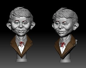 Alfred Neuman Busto neuman 3D printable model