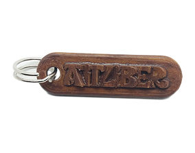 AITZIBER Personalized keychain embossed 3D print model