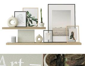 shelf Decorative Set 28 3D