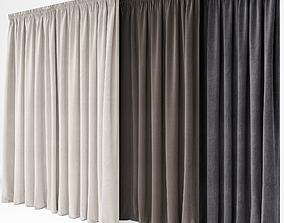 linen Curtain 3D