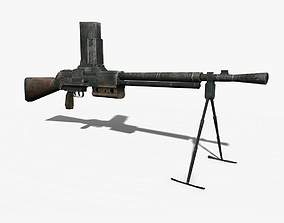 3D asset FM 24-29 Light Machine Gun